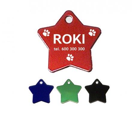 Adresówka dla psa lub kota metalowy M01