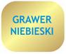 Złoty szczotkowany - grawer niebieski