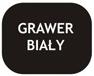 Czarny - grawer biały